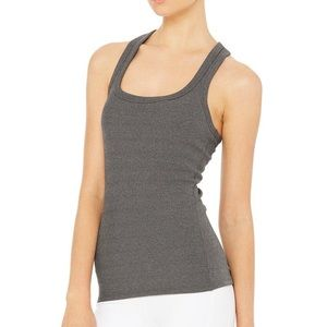 ALO YOGA - Support Ribbed Racerback Tank